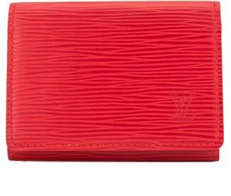 Louis Vuitton Castillian Red Epi Business Card Holder (3953011)