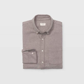 Club Monaco Slim Winter Twill Shirt
