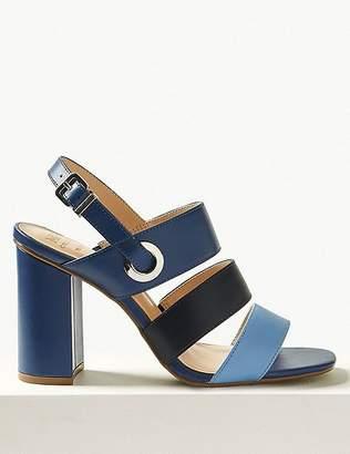 Marks and Spencer Wide Fit Multi Strap Slingback Sandals
