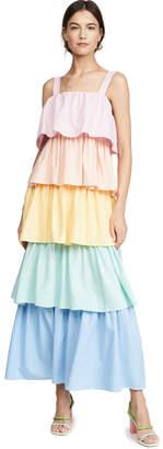 Olivia Rubin Rainbow Mimi Dress