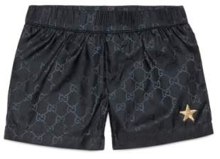 Gucci Interlock Logo Swim Shorts