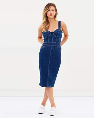 Bardot Stella Denim Dress