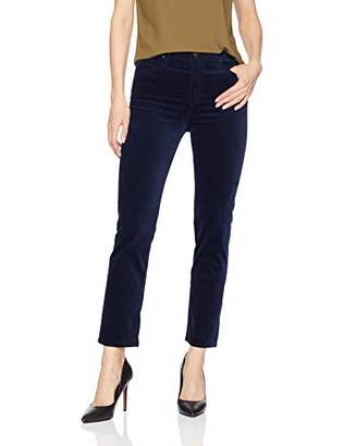 AG Adriano Goldschmied Women's Velvet Isabelle High-Rise Straight Crop