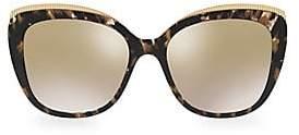 Dolce & Gabbana Dolce& Gabbana Dolce& Gabbana Women's 57MM Cat Eye Sunglasses