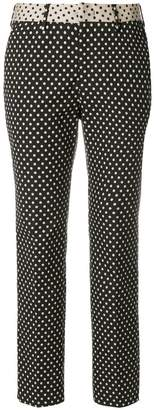 Pt01 polka dot cropped trousers