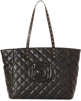 Bebe Olivia Icon Quilted Logo Tote