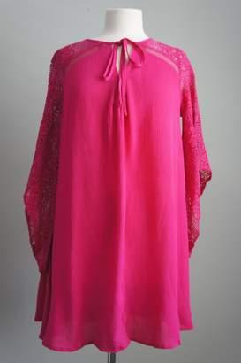 Umgee USA Lace Gauze Tunic