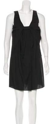 Thakoon Knot-Accented Mini Dress