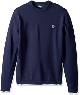 Fred Perry Men's Twin Tipped Crew Neck Jumper