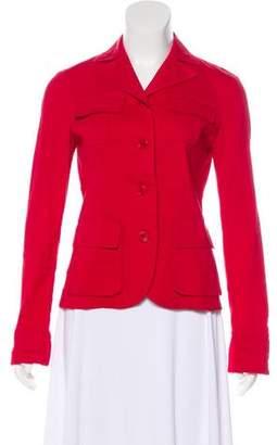 Theory Woven Notch-Collar Jacket