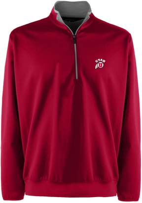 Antigua Men's Utah Utes 1/4-Zip Leader Pullover