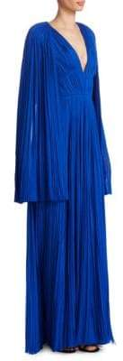 J. Mendel Pleated Silk Gown