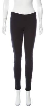 Prada Sport Mid-Rise Skinny Leggings