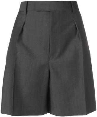 Junya Watanabe high waist flared shorts