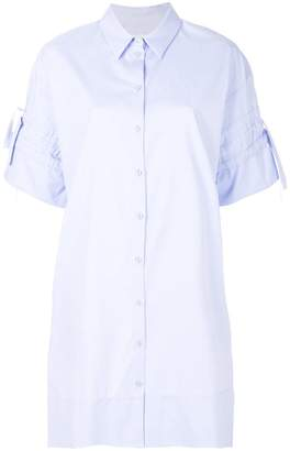 Victoria Beckham Victoria wide sleeve shirt dress