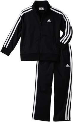 adidas Toddler Boys' Iconic Tricot Jacket and Pant Set