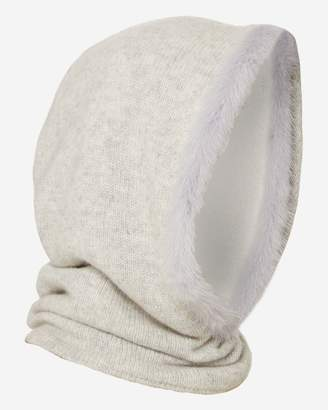 N.Peal Fur Trim Ski Cashmere Hood