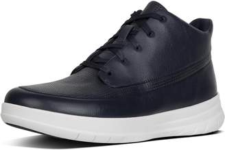 FitFlop Sporty-Pop Men's Leather High-Top Sneakers