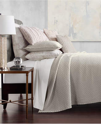 Hotel Collection Speckle Cotton Quilted Twin Coverlet, Created for Macy's