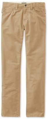 L.L. Bean L.L.Bean Signature Five-Pocket Pants, Twill