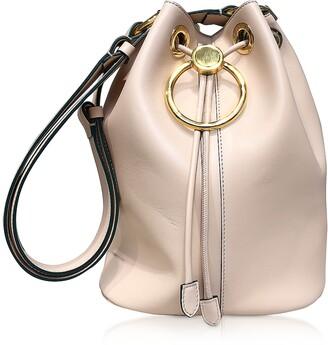 Marni Genuine Leather Drawstring Bucket bag