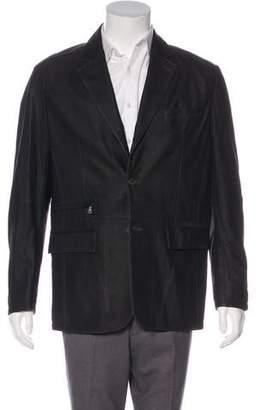 Gimo's Italiana Suede Herringbone Sport Coat w/ Tags
