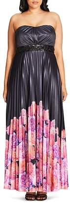 City Chic Helena Border Maxi Dress $149 thestylecure.com