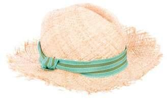Tracy Watts Woven Straw Hat