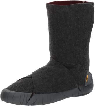 Vibram Furoshiki Mid Boot Russian Felt Grey/Red Wine Sneaker EU:42-43/UK Man:8-9/UK Woman:9-10.5/cm:26.5-27.5/US Man:9-10/US Woman:10-11.5