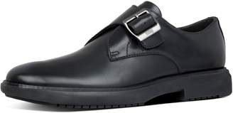 FitFlop Hagen Leather Monk Shoes