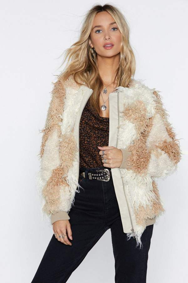 Hope Fur the Best Faux Fur Jacket
