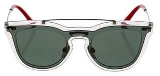 Valentino Aviator Rockstud Sunglasses