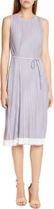 BOSS Enadira Sleeveless Tie Waist Dress