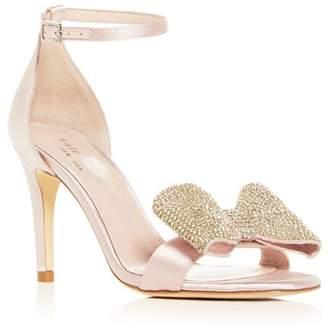 Kate Spade Women's Gweneth Embellished Bow High-Heel Sandals