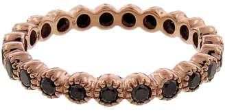 Black Diamond Sethi Couture Bezel Band - Rose Gold