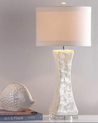 Safavieh Shelley Concave Capiz Shell Table Lamps, Set of Two