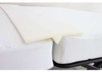 Pilaster Designs Ress White Foam Bed Joiner, Doubling System, Bridge Mattress Connector - Transforms Two Twin Beds Into An Almost King Size Bed