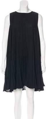 Diane von Furstenberg Pleated Delaney Dress
