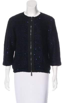 Pinko Knit Embellished Jacket