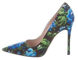 e029ff1b75e0 Blue Floral Pumps - ShopStyle