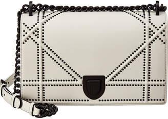Christian Dior Medium Diorama Studded Leather Shoulder Bag