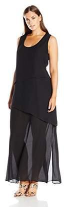 Single Dress Women's Plus Size Shanna Tier $90.98 thestylecure.com