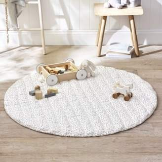 The White Company Grey Dash Playmat, White Grey, One Size