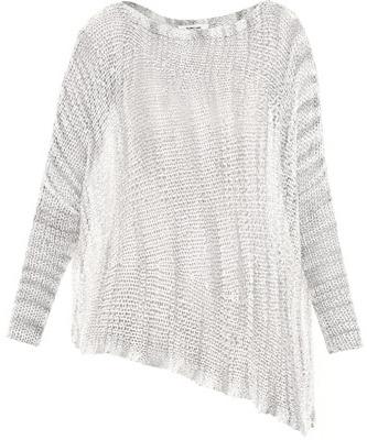 Helmut Lang Marl batwing sweater