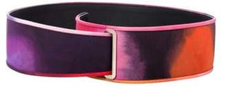 Chanel Watercolor Waist Belt Pink Watercolor Waist Belt