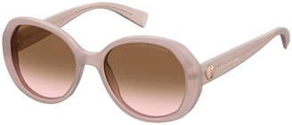 Marc Jacobs Square Gradient Acetate Sunglasses
