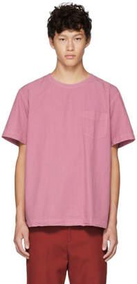 Schnaydermans Pink Poplin T-Shirt