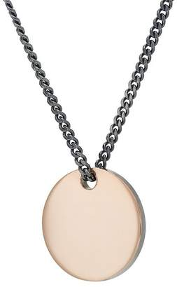 Miansai MEN'S DISC PENDANT NECKLACE