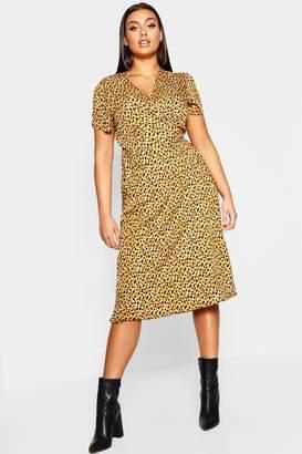 f660d3c941391 boohoo Leopard Print Dresses - ShopStyle UK