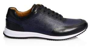 BOSS Legacy Leather Running Sneakers